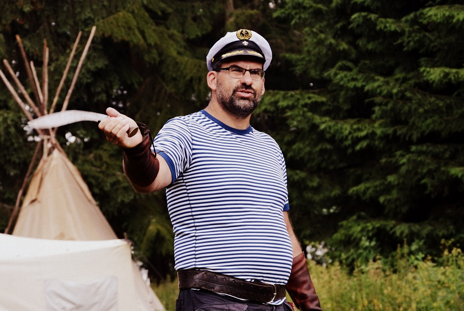 Turlogh, přítel kapitána Nema