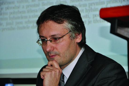 Petr Dvořák, filosof