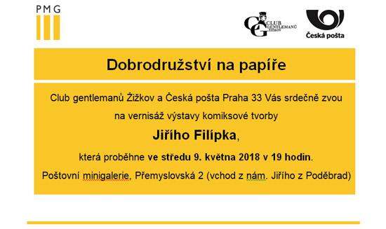 Výstava Jirky Filípka
