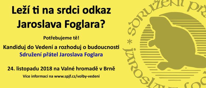Kandiduj do Vedení SPJF!