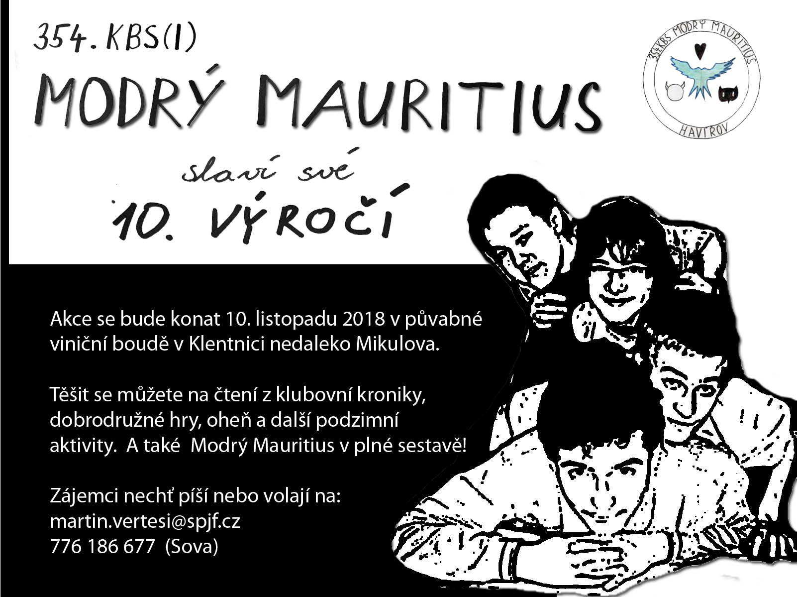 Výročí Modrého Mauritia